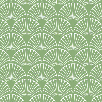 Art deco-bows- green- csempematrica-színes