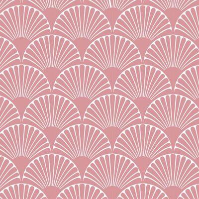 Art deco-bows- rose- csempematrica
