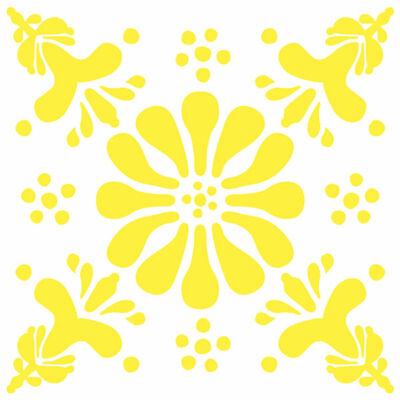 Virág - Sárga - csempematrica
