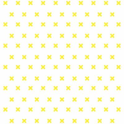 Cross stitch - yellow - csempematrica