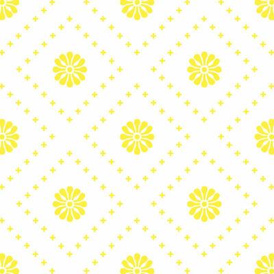 Kicsi virágok - Sárga - csempematrica