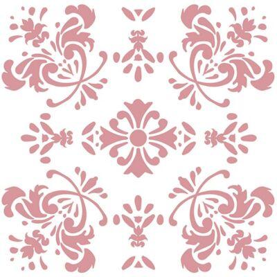 Virágos romantika - Rose - csempematrica