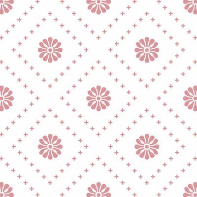 Kicsi virágok - Rose - csempematrica