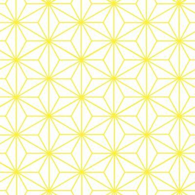 Csillagminta Yellow csempematrica