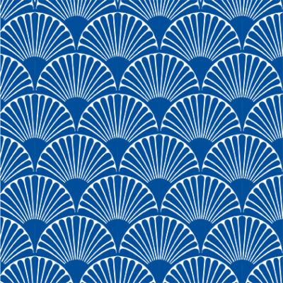 Art deco-bows- blue- csempematrica - átlátszó