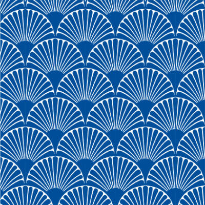 Art deco-bows- blue- csempematrica - színes