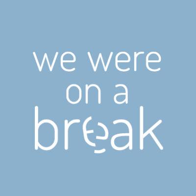 We were on a break - Friends - csempematrica