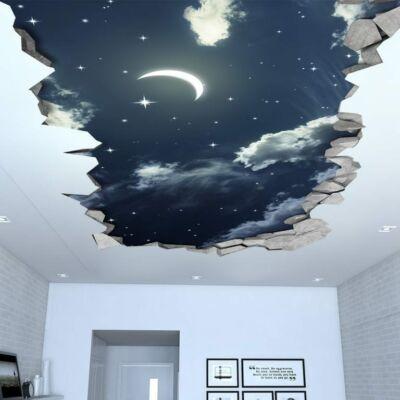 Night Sky 3D hatású fali matrica