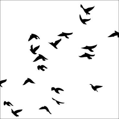 Kis madarak csempematrica