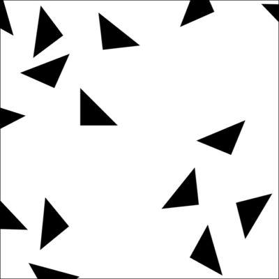 Háromszög konfetti csempematrica
