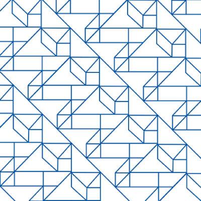 Grafikus minta KÉK csempematrica