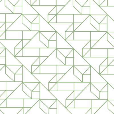 Grafikus minta ZÖLD csempematrica