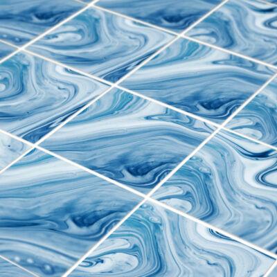 Blue onyx - padlómatrica