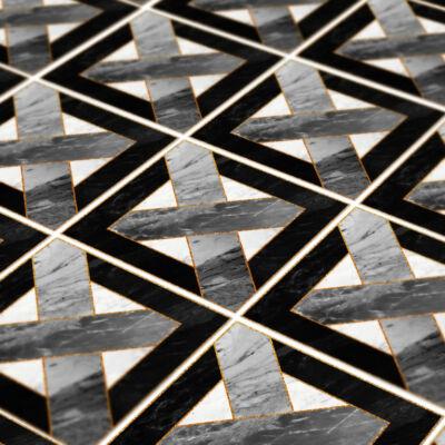 Aranyozott geometria - padlómatrica
