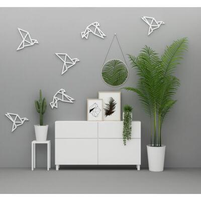 3D origami madarak - falmatrica