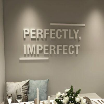 3D hatású Perfectly imperfect- falimatrica