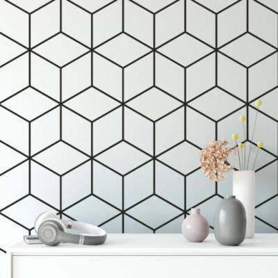 Geometric cubes - öntapadós tapéta