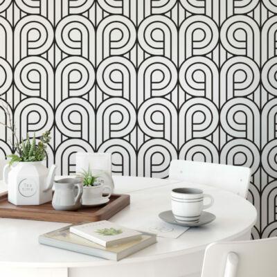 Art Deco Circular Pattern - öntapadós tapéta