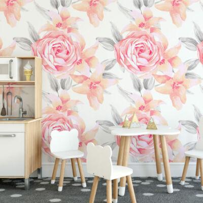 Pink Rózsák - öntapadós tapéta