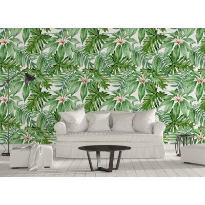 Trópusi levelek öntapadós tapéta